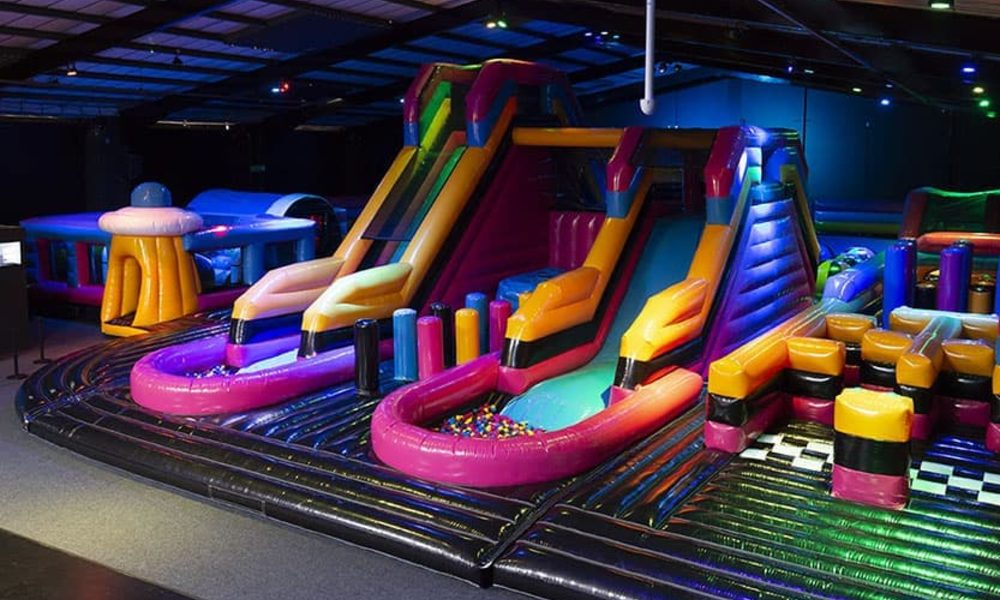 Air haus inflatable parks