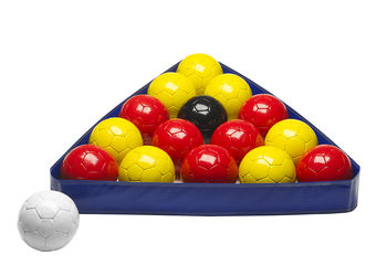 Triangle and poolballs